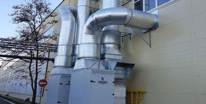 Отопление газовыми теплогенераторами